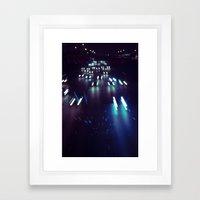 (purp)xSTREETZ3 Framed Art Print