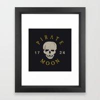 Pirate Moon Framed Art Print