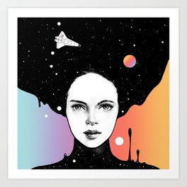 Art Print - If You Were My Universe - Norman Duenas