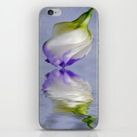 Lisianthus iPhone & iPod Skin