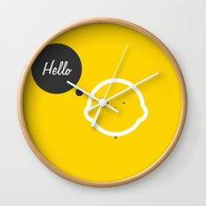 Hello Pets no.1 Wall Clock