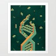 Programmable Matter (Tet… Art Print