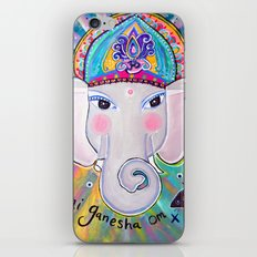 Jai Ganesha  iPhone & iPod Skin