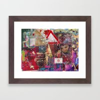 You Can't Miss The Bear Framed Art Print