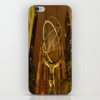 Atlas-Gold iPhone & iPod Skin