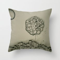 People Vs. Urban Living Throw Pillow