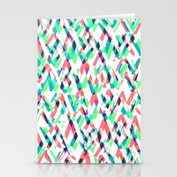 Pastel Scribbles. Stationery Cards