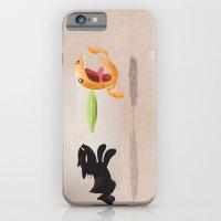 Skelly Cat And Orange iPhone 6 Slim Case