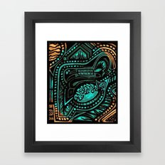 Ancient Tanscape Framed Art Print