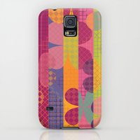 iPhone Cases featuring Abstract Colorful Floral Pattern by Graphic Tabby