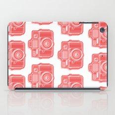 I Still Shoot Film Holga Logo - Red iPad Case