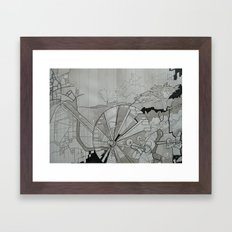 Santa Cruz Framed Art Print