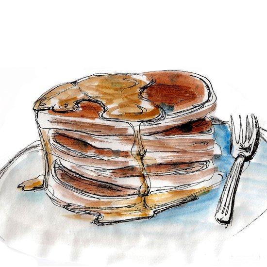 Food Fetish: Sunday Art Print