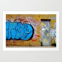 All Tags Up Art Print