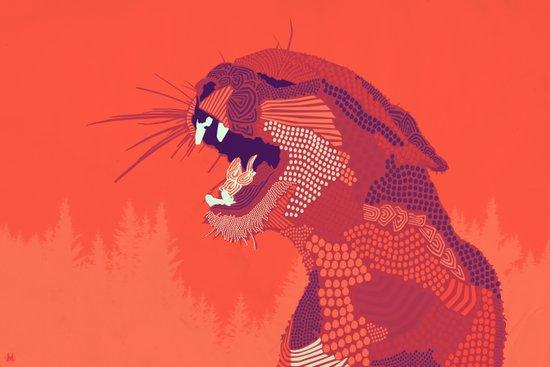 Puma Concolor Art Print