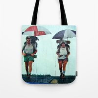 Rain Hiking Tote Bag