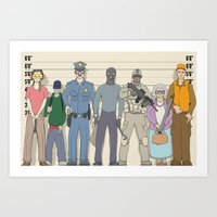 Innocent Until Proven Guilty Art Print
