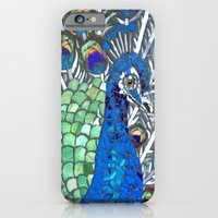 Small Peacock iPhone 6 Slim Case