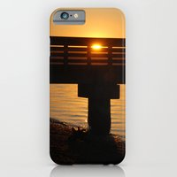 Dock At Sunset iPhone 6 Slim Case