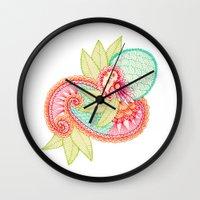 Arabesque #1 Wall Clock