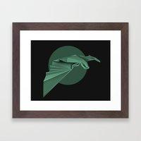 Chiroptera, bat, murciélago Framed Art Print