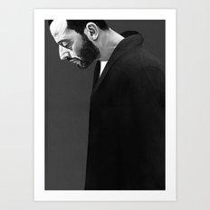 Leon Art Print