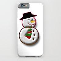 iPhone Cases featuring Snowman by Gaspar Avila