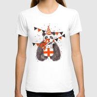 happy birthday T-shirts featuring Happy Birthday by Tobe Fonseca