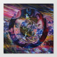 Space Marble Version 2 Canvas Print