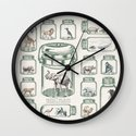 Protect Wildlife - Endangered Species Preservation  Wall Clock