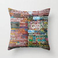 Anderson's Dock Throw Pillow