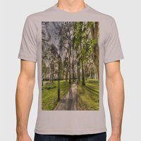 Green Park London Mens Fitted Tee Cinder SMALL