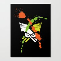 Splatoon - Turf Wars 1 Canvas Print