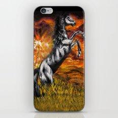 It's always sunny in philadelphia, charlie kelly horse shirt, black stallion iPhone & iPod Skin