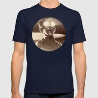 TZAAAR! Mens Fitted Tee Navy SMALL