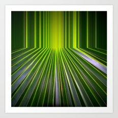Green Room Art Print