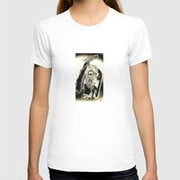 The Deal Maker Womens Fitted Tee White SMALL