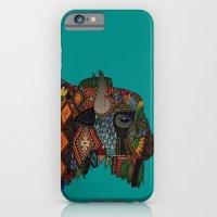 bison teal iPhone 6 Slim Case