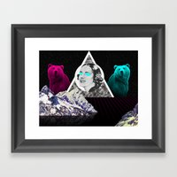 My Woman Framed Art Print