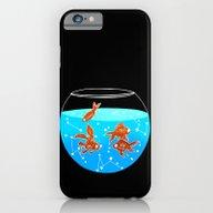 Cosmic Fish iPhone 6 Slim Case