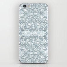 Lace Geometric // Kaleidoscope of blues iPhone & iPod Skin