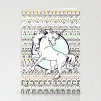 Unicorn Party Stationery Cards