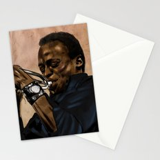 Miles, jazz will never be the same Stationery Cards