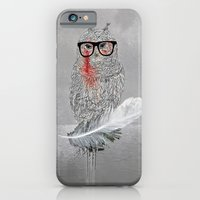 iPhone & iPod Case featuring Owl a part of your dream! by gwenola de muralt