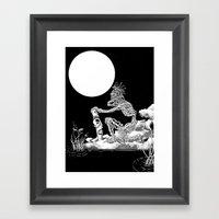 Nkulun Kulu Découvre L'… Framed Art Print
