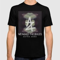 We Make the Rules Mens Fitted Tee Black SMALL