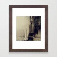 Vanishing Framed Art Print