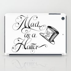 Alice in Wonderland Mad As A Hatter iPad Case