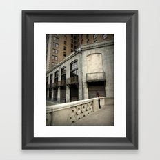Top of the Stairs Framed Art Print