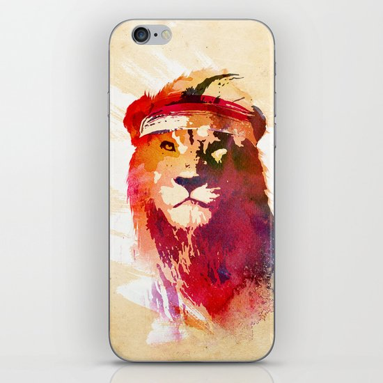 Gym Lion iPhone & iPod Skin